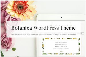 Botanica - WordPress Wedding Theme
