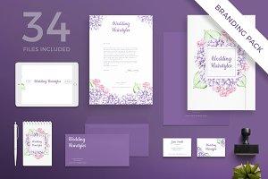 Branding Pack | Wedding Flowers