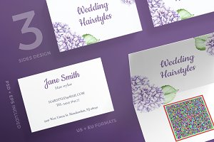 Business Cards | Wedding Flowers