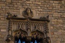 Gothic Quarter of Barcelona in Spain