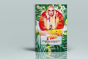 Summery Party Flyer