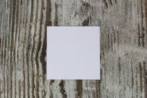White empty paper