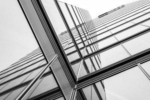Reflected facade