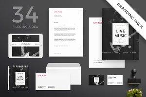 Branding Pack | Live Music