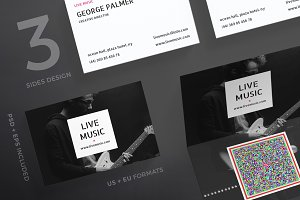 Business Cards | Live Music