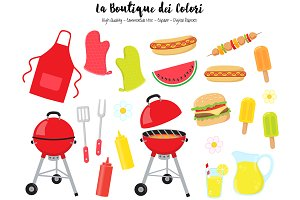 Summer Barbecue Clipart