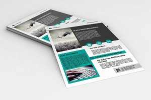 InDesign Business Flyer - V563