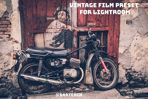6 Vintage film presets for Lightroom