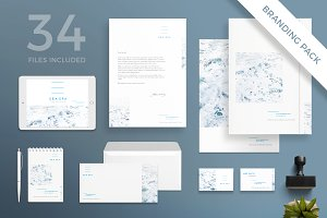 Branding Pack | Spa Weekend