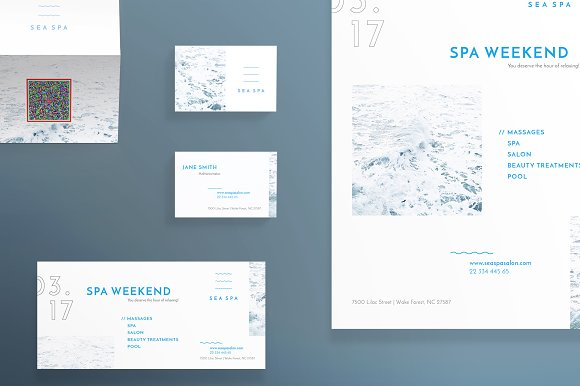 Print Pack | Spa Weekend