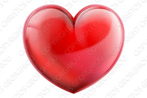 Heart 3d Icon
