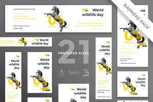 Banners Pack | World Wildlife