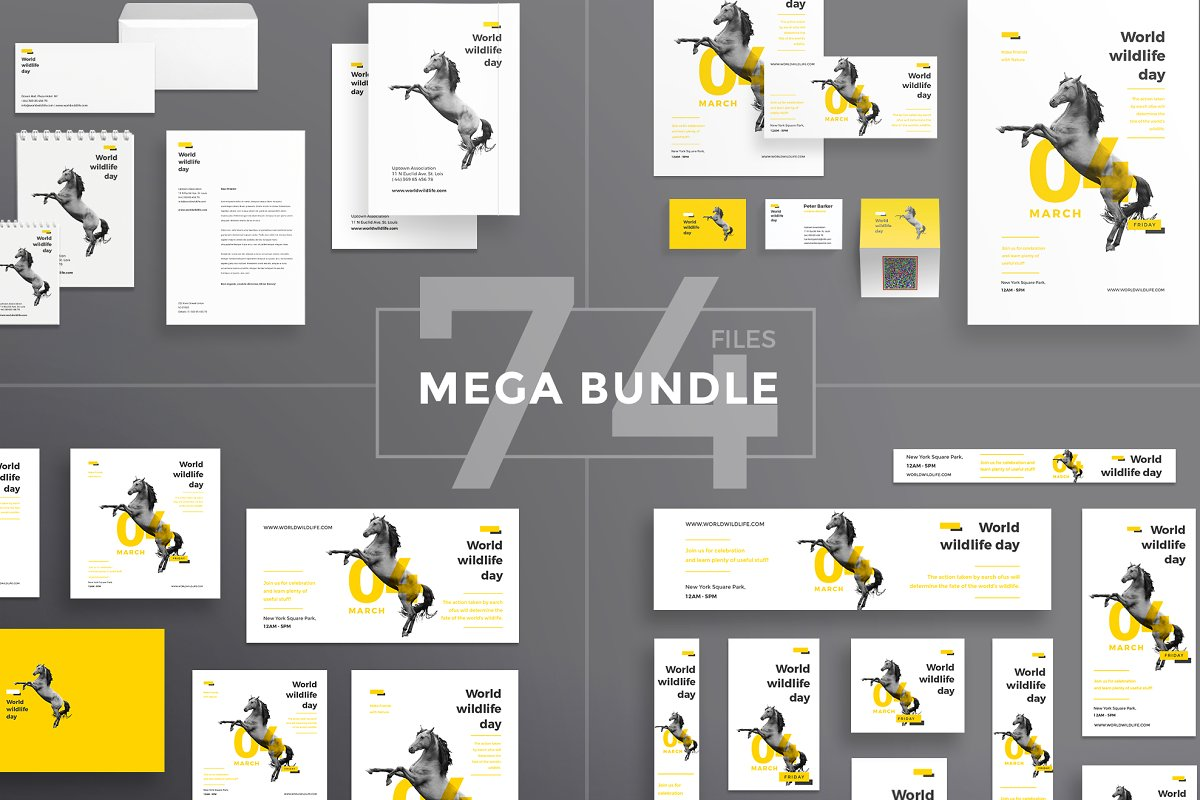 Mega Bundle | World Wildlife