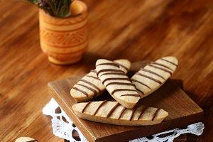Hazelnut Long Cookies