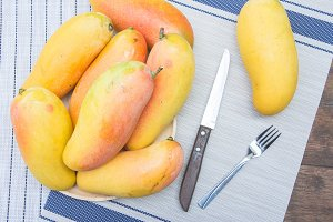 mango fruit delicious of summer thai