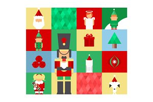 Christmas Nutcracker Pattern