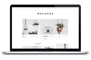 Responsive WP Theme - Melange