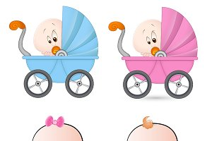 Babies PNG & Vectors Illustration