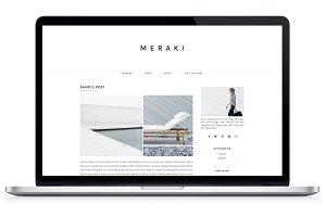 Responsive WP Theme - Meraki