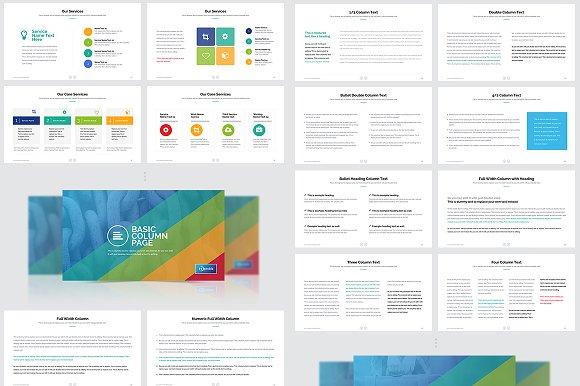 Business Plan Powerpoint Bundle Presentation Templates Creative Market