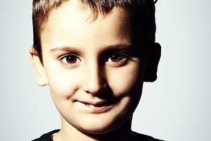 Funny kid portrait
