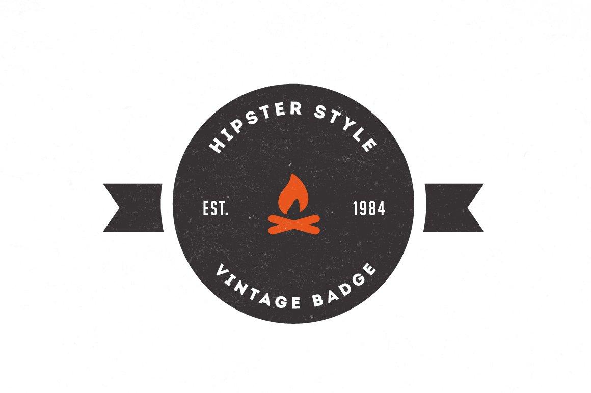 Trendy Vintage Logos & Badges ~ Logo Templates ~ Creative Market
