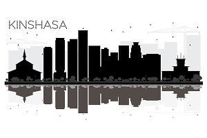 Kinshasa City skyline