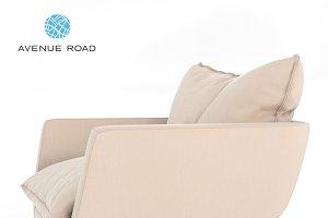 Rua Ipanema Lounge Chair 3D model