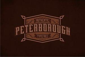 Peterborough Label Typeface