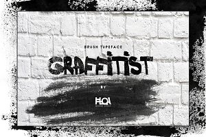 GRAFFITIST- Brush Font