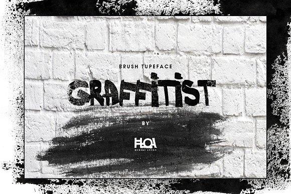 GRAFFITIST- Brush Font