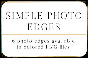Simple Photo Edges