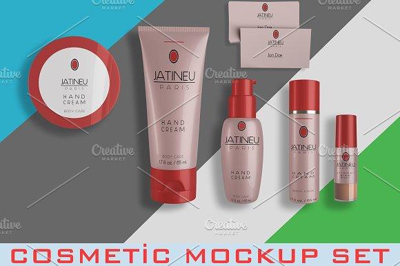Editable Cosmetic Mockup