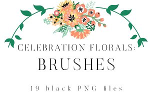 Celebration Florals Brushes