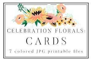 Celebration Florals Cards
