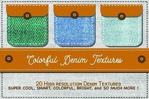 Supercool 20 Denim Textures