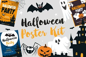 Halloween Poster Kit