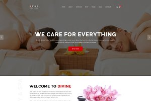 Divine - Commerce WordPress Template