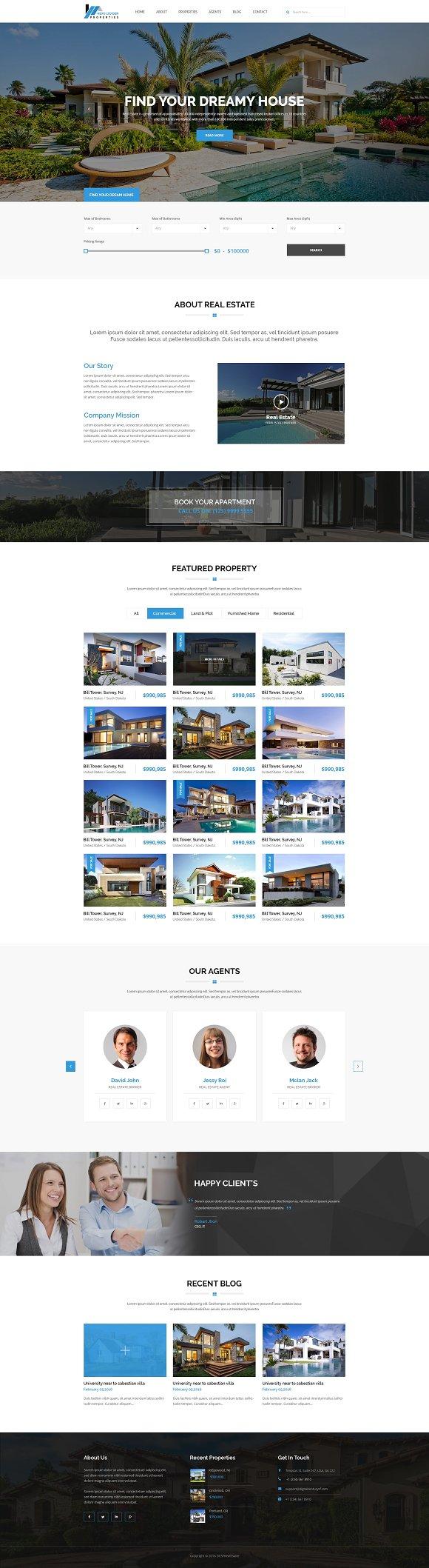 Hexo RealEstate WordPress Theme