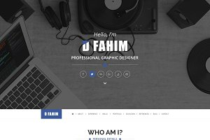 Hired - Resume WordPress Theme