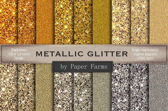 Metallic Glitter