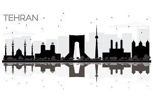 Tehran City skyline