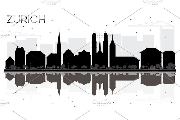 Zurich City skyline