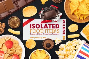 Isolated Food Items Vol.4