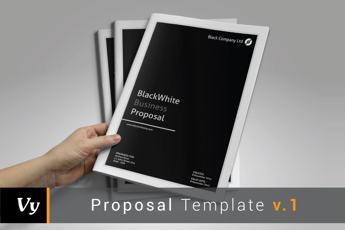 Business proposal template brochure templates creative market cheaphphosting Choice Image