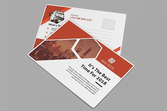 Post Card in Card Templates - product preview 4