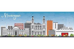 Managua Skyline