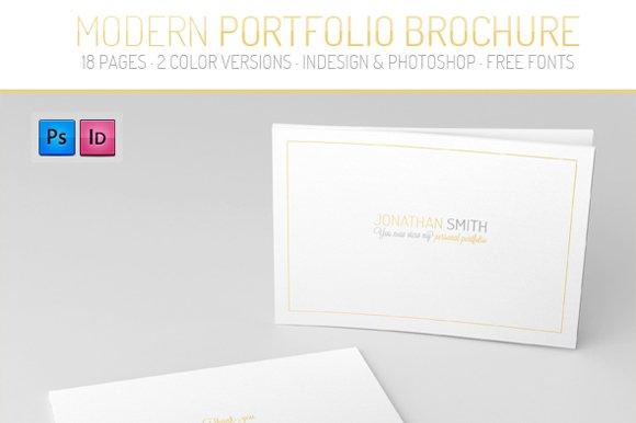 portfolio brochure template brochure templates creative market