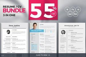 Resume/CV Minimal Bundle