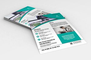 InDesign Business Flyer - V564